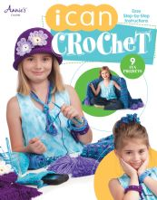 I Can Crochet Beginner's 9 Project Paperback Book